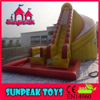 Best WL-1824 Hot Sale Inflatable Slide Combo, Giant Inflatable Water Slide For Sale wholesale