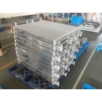 Quality Lightweight Microchannel Compact Heat Exchanger For Heat Pump / Air Conditioner for sale