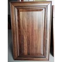 Buy cheap Luxury black walnut solid wood kitchen cabinet door ,walnut raised kitchen cabinet door from wholesalers