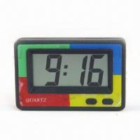 Quality LCD Alarm Clock with Big Digit and Month, Day Display for sale