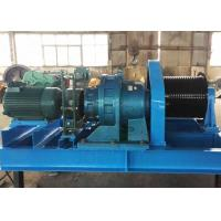 Quality Heavy duty 20 ton 25 ton material lifting diesel engine powered steel wire rope winch for sale