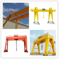 Quality Durable Outdoor 35 Ton Mobile Travelling Gantry Crane for sale