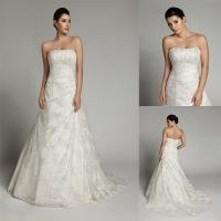 China Gorgeous Court Train Girls Bridal Wedding Dresses for Prom , Evening Party on sale