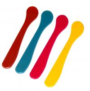 China Colorful Dental Plastic Spatula For Impression Material Alginate 3 Sizes Available on sale