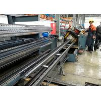 Quality Warehouse Storage Racks Upright Teardrop Frames Roll Forming Machine for sale
