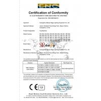 Guangzhou Mandy Stage Lighting Equipment Co.,Ltd. Certifications