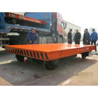 Quality Heavy Duty Rail Flat Electric Transfer Cart For Workshop 30 Ton Capacity for sale