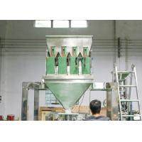 Quality Servo Motor Controlled Coffe Packing Machine / 4 Heads Linear Weigher for sale
