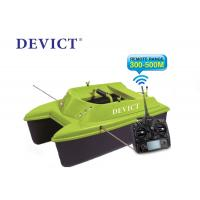 Quality Green Remote control fishing bait boat DEVC-304M 300-500 M Range RoHS Certification for sale