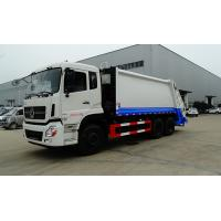 Quality Rear Load Garbage Compactor Truck Dongfeng Right Hand 6x4 18cbm for sale