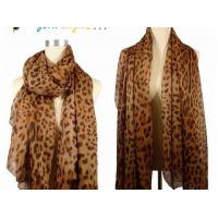 Quality Ladies 2013 new Fashion silk Scarf brown leopard print infinity polyester scarves for women for sale