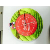 China Modern Acrylic Custom Logo Clocks / Wall Decor Clock For Arts And Crafts on sale