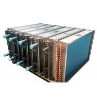 Quality High Durability Copper Tube Fin Heat Exchanger For Chiller Water Cooling Area for sale