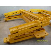 Quality Q345 Steel Structure Frame Potain Tower Crane Spare Parts For Anchor Frame for sale