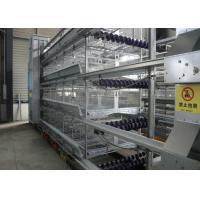 Quality Poultry Farming Chicken Battery Cages Health Wire Poultry Cages Low Noise for sale