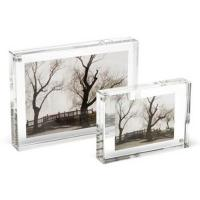 Quality custom glass photo frame for 4x6 inches pictures for sale