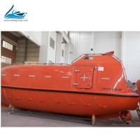 China EC SOLAS MED RINA Certificate FRP totally enclosed motor propelled survival craft For 100 Person on sale