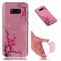China Ultra Slim Soft TPU Shiny Shine Cell Case Cover IMD Glitter Back For Samsung Galaxy on sale