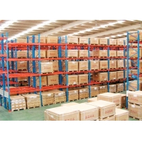 China Robot welding RAL 2000kgs Pallet Rack Shelving System ISO9001 for sale