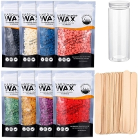 Quality 15 Colors Painless Bleached Wax Beans Depilatory Hard Wax Beads Hair Removal 100g/3.5 OZ 15 Colors Hard Wax Bean for sale