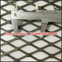 Best Galvanized Expanded Plate Mesh/Flattened galvanized expanded mesh wholesale
