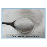 China Ropivacaine Hydrochloride 98717-15-8 Local Anesthetic Drug 99% Purity Quick Effect on sale