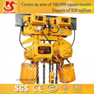 Quality Electric 10 ton-5m chain hoist for sale