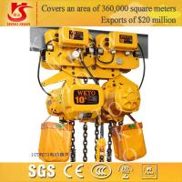 Quality Electric customized 10 ton-5m chain hoist for sale