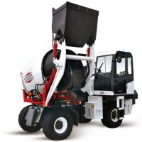 China 116Hp 3m3 Self Loading Concrete Mixer Truck With Wheel for sale