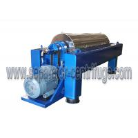 Buy 3 Phase Liquid Solid Separation Decanter Centrifuge , Centrifugal Machine at wholesale prices