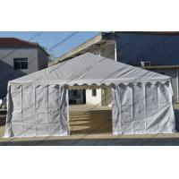Quality 6 X 12m Outdoor Event Tent White Color Pvc Cover With Transparent Church Windows for sale