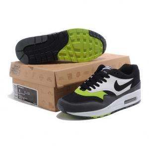 China Fashion shoes Air Max 87 Black / Volt - White Men Shoes on sale