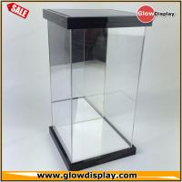 Best self-assembly custom 1/6 scale LED lighted clear figure acrylic display case for collection toys wholesale