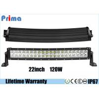 China Waterproof 120W Double Row Led Light Bar ,  Spot / Flood / Combo Beam Light Bar on sale