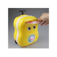 Quality Lovey Electric Smart Money Saving Box Trolley With Music For Kids Cartoon Style for sale