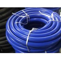 Quality Blue Silicone Vacuum Hose Temperature Resistance Multi Ply Aramid Cloth Wrapping for sale