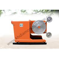 Buy cheap Mining equipment wire saw machine for cutting marble 55KW from wholesalers