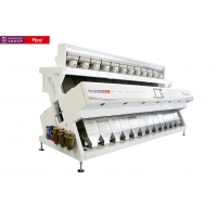 China 7.0KW Economic Crop 2 Chute Grain CCD Color Sorter for sale