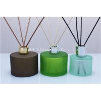 Best decoration design reed diffuser bottle with silver lid for wholesale wholesale