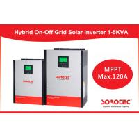 Best Hybrid On / off grid solar inverter 2kva 2000w with 80A MPPT Controller wholesale