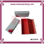 Quality Perfume box, cardboard paper box, foldable flat gift box ME-FD019 for sale