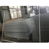 Hot dipped galvanized temporary fence panel in workshop