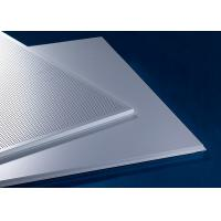Quality Waterpfoof Suspended False  Waterproof Ceiling Tiles  595x595MM Perforated Or Non-Perforated for sale