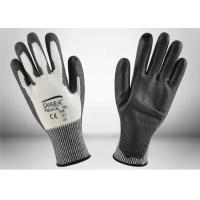 Quality Non Toxic PU Coated Cut Resistant Gloves Machine Washable High Durability for sale