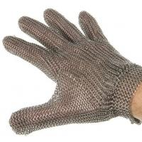 China stainless steel metal mesh cut resistant gloves protection Cut Proof Stab Resistant Stainless Steel Metal Mesh Butcher G on sale