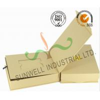 Quality Brown Color Custom Printed Corrugated Cardboard Gift  Boxes Rigid Foldable for sale