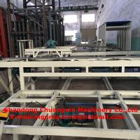 Quality 1500 Sheets / Shift Capacity Sandwich Wall Panel Machinery Magnesium Oxide Board for sale
