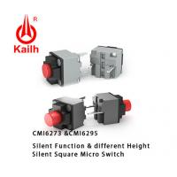 Quality Kailh High Quality Mini Square Silent Mute Micro Switches for sale