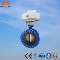 Quality Electric Soft Seal Flanged Butterfly Valve (GAD941X) for sale