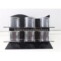 Quality Jewelry Store Countertop Retail Displays 3 - Bar Acrylic Bracelet Display Handmade for sale